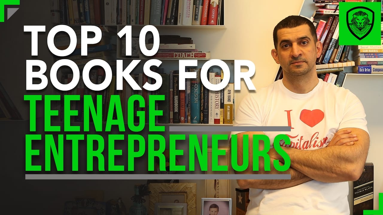 The Top 10 Books for Teenage Entrepreneurs