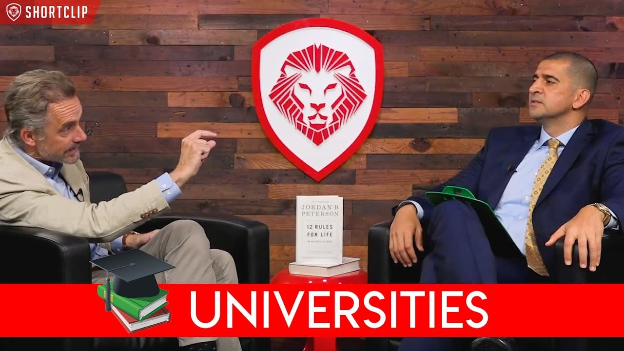 Jordan Peterson - 7 Fatal Errors Universities Make